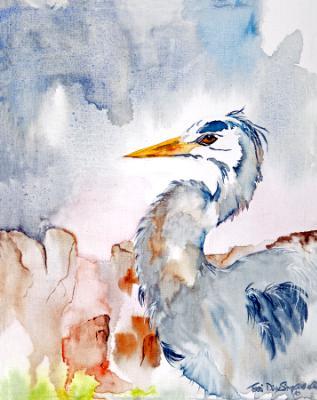 Heron Over the Deschutes