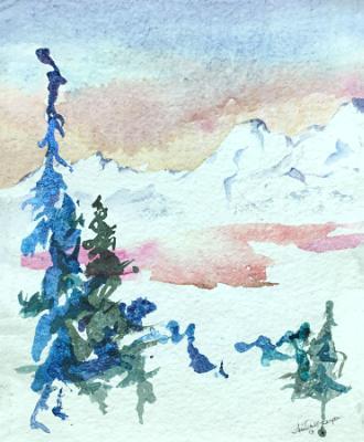 Winter on the Mountain