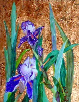 Iris and Gold
