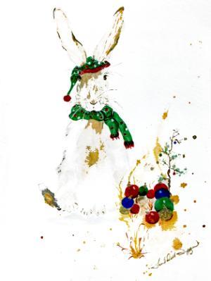 Christmas Hairy the Jack Rabbit