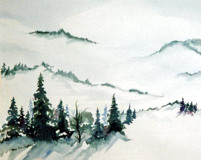 Winter in the Hills