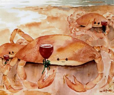 Christmas Crab Cocktail
